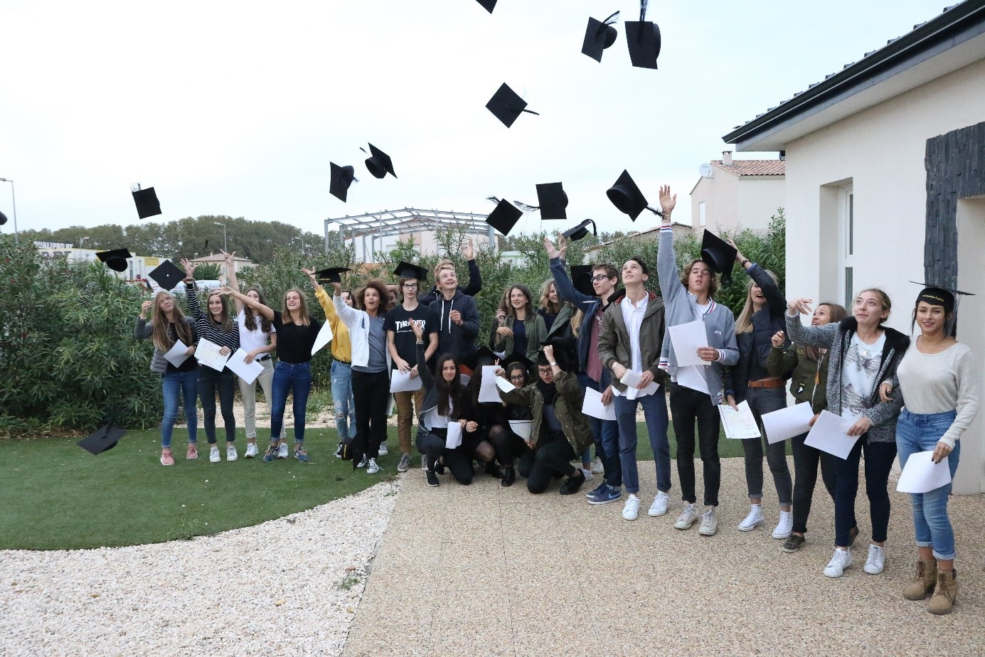 Lycée Saint-Charles d'Arles remise des diplômes