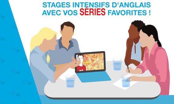 Stages Ado et Etudiants: Apprendre l'anglais avec les séries